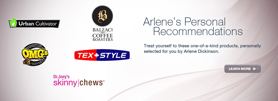 Arlene's Personal Recommendations