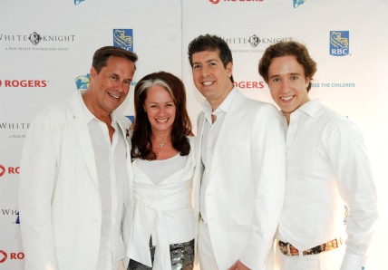 Jeffrey Latimer Arlene Ron White and Craig Kielburger at  - Royal Wedding Guest List