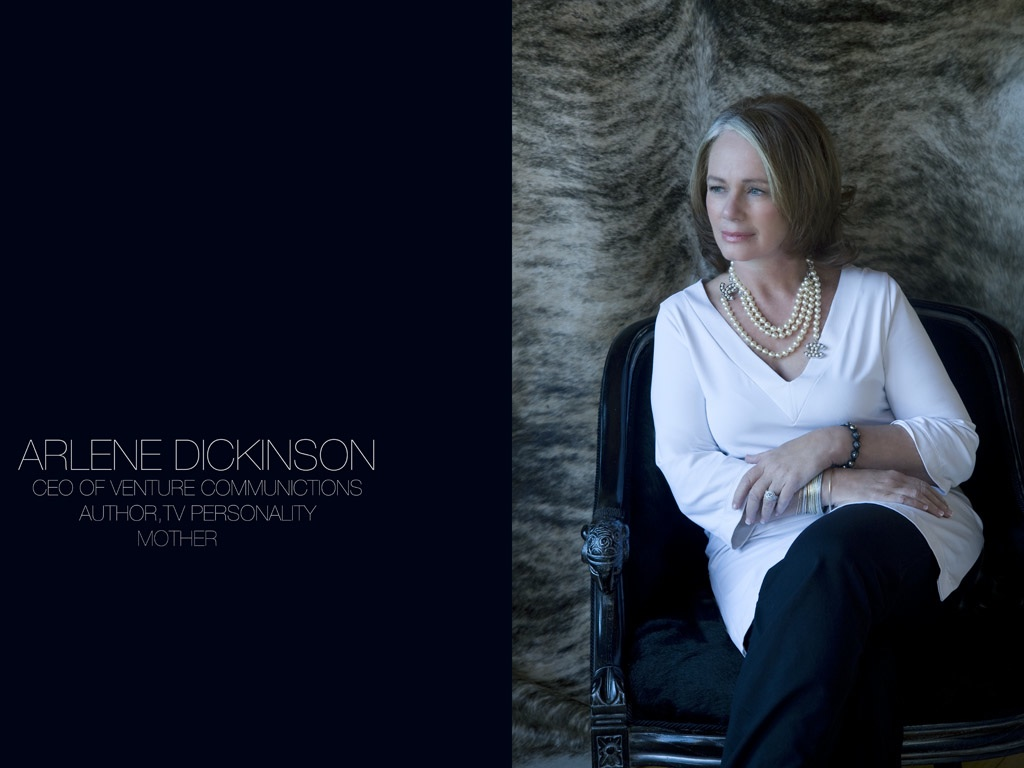 arlene dickinson biography Arlene dickinson is one of canada's most renowned entrepreneurs and venture capitalists.