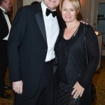 David Chilton and Arlene Dickinson at the Book Lover's Ball Toronto Jan 2013